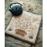 Tea Time Kettle Mat - Stickvorlage Scattered Seeds Samplers