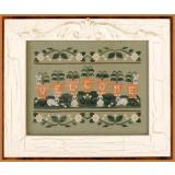 Welcome Spring - Stickvorlage Country Cottage Needleworks