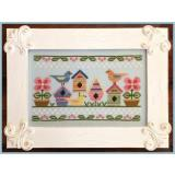 Spring Birds - Stickvorlage Country Cottage Needleworks