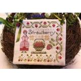 Dinahs Garden - Strawberry - Stickvorlage by Lilas Studio