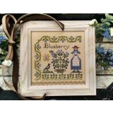 Dinahs Garden - Blueberry - Stickvorlage by Lilas Studio