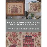 Shall I Compare Thee To A Summer Day?  - Stickbuch Blackbird Designs