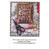 Dames of the Needle Stickvorlage Alphabet Pin Pillow
