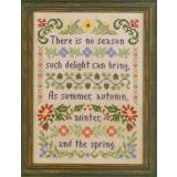 Elizabeths Designs Stickvorlage Delightful Seasons