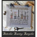 Stitcher Sewing Sampler - Stickvorlage Nikyscreations