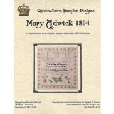 Mary Adwick 1804 - Kreuzstichvorlage Queenstown Sampler Designs