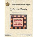 Life Is A Beach - Kreuzstichvorlage Queenstown Sampler Designs