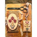 Marys Garden Needle Book & Fob - Stickvorlage Stacy Nash Primitives