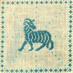 Stickpackung Haandarbejdets Fremme 17-2240,04 Sternzeichen Widder 15x15