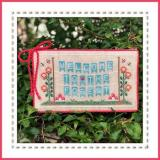 Welcome To The Forest 1 - Forest Banner - Stickvorlage Country Cottage Needleworks