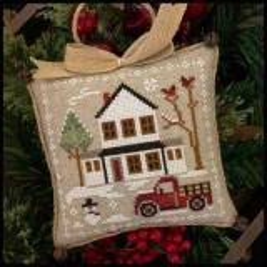 Farmhouse Christmas 3 - Grandpas Pick-Up - Kreuzstichvorlage Little House Needleworks