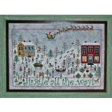 Jingle All The Way - Stickvorlage Praiseworthy Stitches