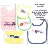 Vegi-Table Bibs - Stickvorlage Xs and Ohs