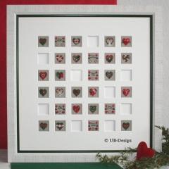 Memory zur Weihnachtszeit - Stickvorlage UB-Design