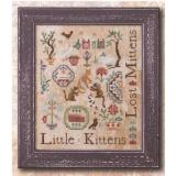Kreuzstichvorlage Ink Circles - Three Little Kittens