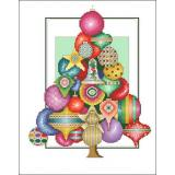 Ornament Tree - Kreuzstichvorlage Vickery Collection