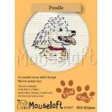 Pudel - Stickpackung Mouseloft