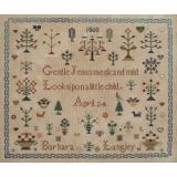 Barbara Langley 1860 - Kreuzstichvorlage Queenstown Sampler Designs