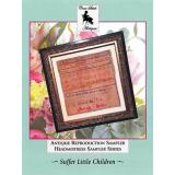 Suffer Little Children - Kreuzstichvorlage Cross Stitch Antiques