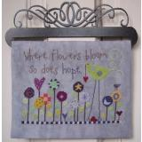 Hope Blooms - Stickvorlage Samsarah Design