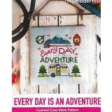 Every Day Is An Adventure - Kreuzstichvorlage Tiny Modernist Inc