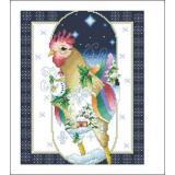 Vickery Collection Stickvorlage January Rooster