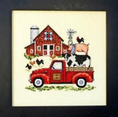 Bobbie G. Designs Stickvorlage Barnyard Fun