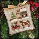 Farmhouse Christmas 4 - Dairy Darlin - Stickvorlage Little House Needleworks