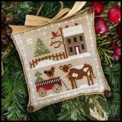 Farmhouse Christmas 4 - Dairy Darlin - Kreuzstichvorlage Little House Needleworks