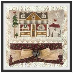 Hometown Holiday - Coffee Shop - Kreuzstichvorlage Little House Needleworks