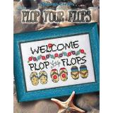 Plop Your Flops - Kreuzstichvorlage Stoney Creek