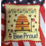 Needle Bling Designs Stickvorlage Bee Proud