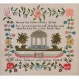 Queenstown Sampler Designs Stickvorlage Ann Jordan c.1841