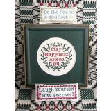 Blessings And A Quip - Kreuzstichvorlage Queenstown Sampler Designs