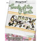 Towels Of The Month - May - Kreuzstichvorlage Stoney Creek