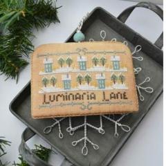 Luminaria Lane (White Christmas 5) - Stickvorlage Hands On Design