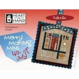 Merry Making Mini - 4th Of July (w/embellishments)  - Kreuzstichvorlage Heart In Hand
