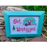 Get Unplugged - Stickvorlage Pickle Barrel