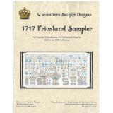 1717 Friesland Sampler - Kreuzstichvorlage Queenstown Sampler Designs