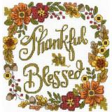 Thankful & Blessed - Stickvorlage Imaginating