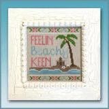 Country Cottage Needleworks Stickvorlage Beachy Keen