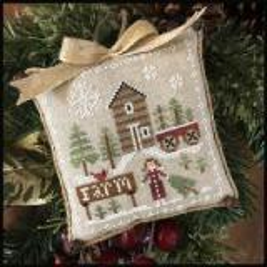 Farmhouse Christmas 6 - Pinewood Farm - Kreuzstichvorlage Little House Needleworks