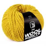 Lang Yarns Wooladdicts Fire Farbe 11 ocker
