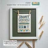 Irony (Laundry Company 3) - Stickvorlage Hands On Design