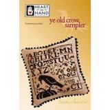 Ye Old Crow Sampler (w/embellishments)  - Kreuzstichvorlage Heart In Hand
