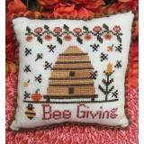Needle Bling Designs Stickvorlage Bee Giving
