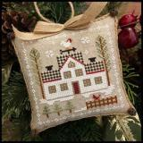 Farmhouse Christmas 7 - Cock-a-doodle-do - Stickvorlage Little House Needleworks