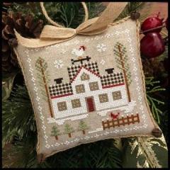 Farmhouse Christmas 7 - Cock-a-doodle-do - Kreuzstichvorlage Little House Needleworks
