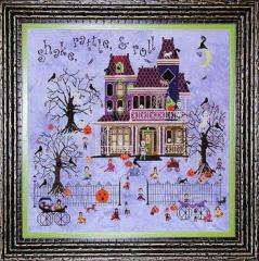 Mr. Bones Starlight Ballroom - Stickvorlage Praiseworthy Stitches