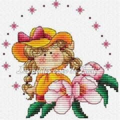 Mini Hello Spring - Kreuzstichvorlage Les Petites Croix De Lucie
